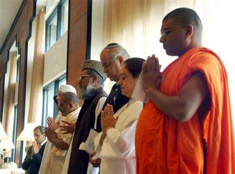 Desde un templo religioso - convivenia con las otras religiones